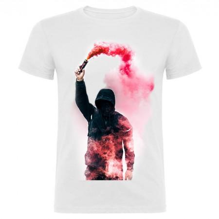 Camiseta blanca imagen grande (con tu foto)